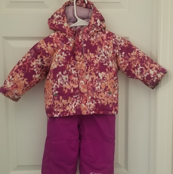 Columbia Other - Toddler Columbia Bugaboo Snowsuit Size 12-18 month